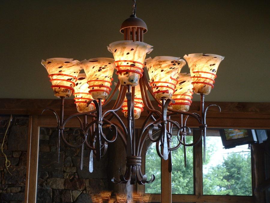 Custom lighting fixture