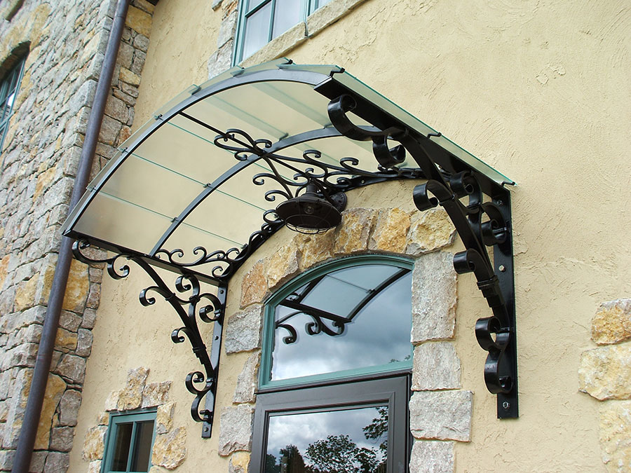 Decorative Iron Canopy