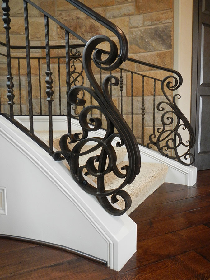 Decorative Iron Railing