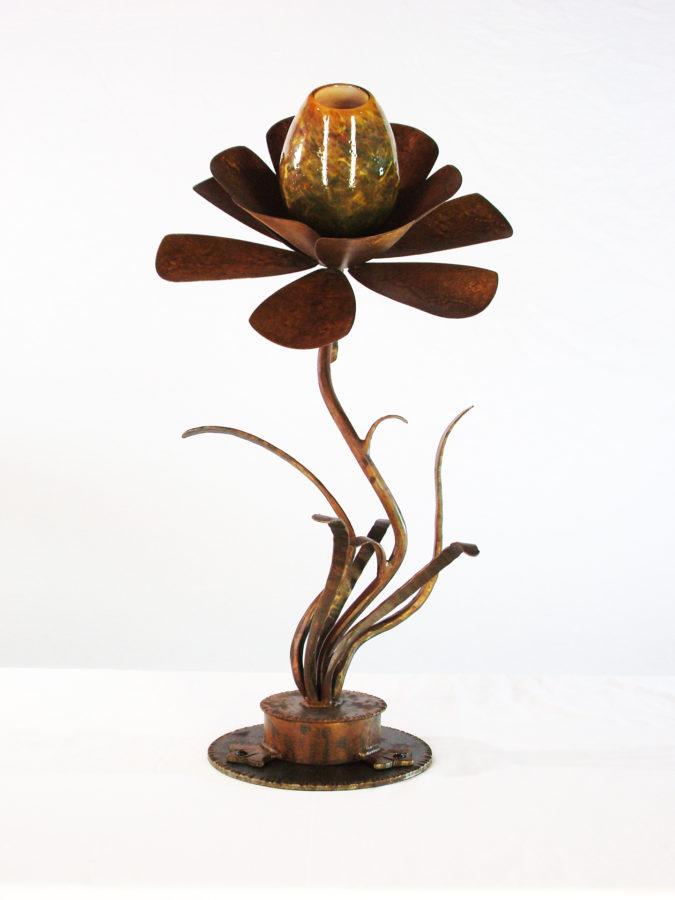 Flower sculpture by Chet Redmon