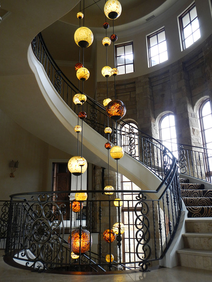 Lighting and Railing